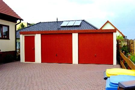 Garagen Stahl mit Anbau