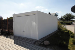 Betongarage am Haus