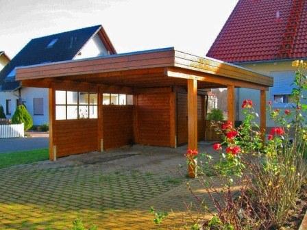 carport galerie omicroner garagen. Black Bedroom Furniture Sets. Home Design Ideas