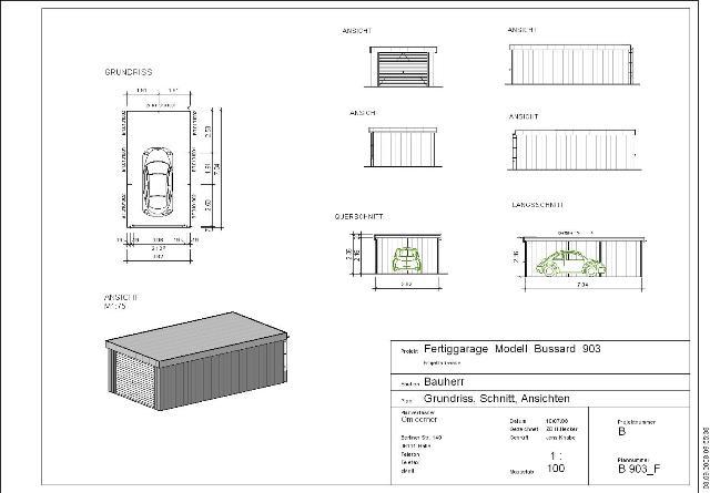 Fertiggarage grundriss  Stahlgaragen-Liste-3 – Omicroner Garagen :